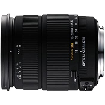 Sigma 18-200mm f/3.5-6.3 DC OS (Sigma), 18: Amazon.es: Electrónica