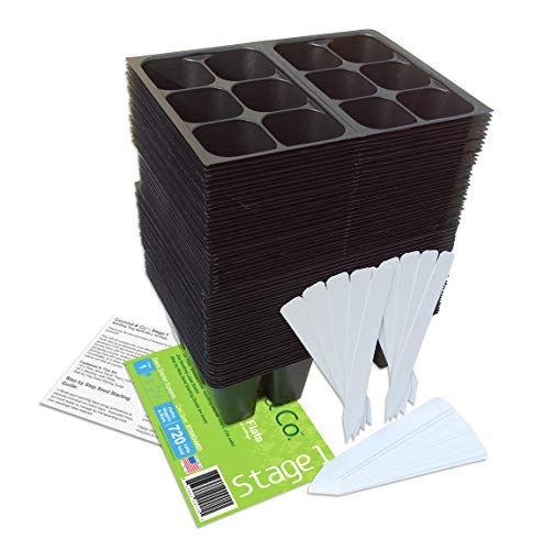 Seedling Starter Trays Labels Directions