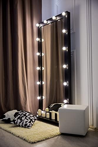 Espejos De Pie Con Luz Para Maquillaje espejos de pie  Marca M&G mirror