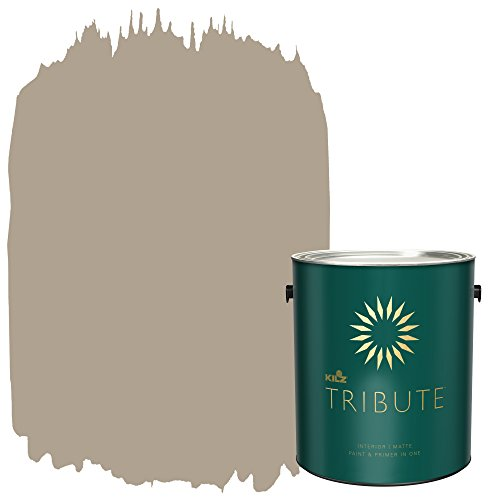 KILZ TRIBUTE Interior Matte Paint and Primer in One, 1 Gallon, Antiquity (TB-15)