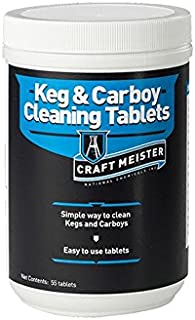 Craft Meister Keg and Carboy Cleaning Tablets - 55 ct