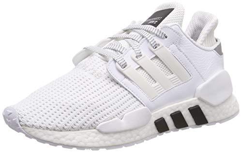 adidas Eqt Support 91/18, Herren Gymnastikschuhe, Weiß (Ftwr White/Ftwr White/Core Black Ftwr White/Ftwr White/Core Black), 42 EU (8 UK)