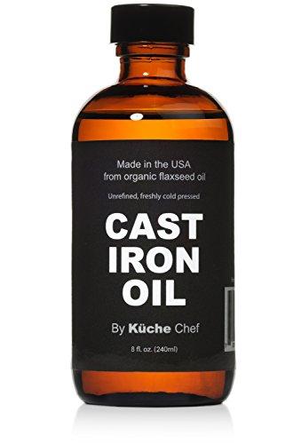 Organic Cast Iron Oil