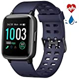 Best Monitors With Calorie Counters - LETSCOM Smart Watch with Heart Rate Monitor, Compatible Review