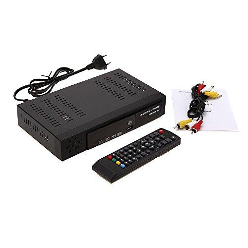 Decodificador digital Full HD 1080 p - Combo terrestre y satélite DVB T2-S2