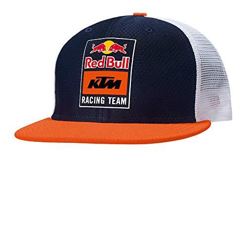 Red Bull KTM New Era Fletch Trucker Cap, Unisex One Size - Official Merchandise Blue