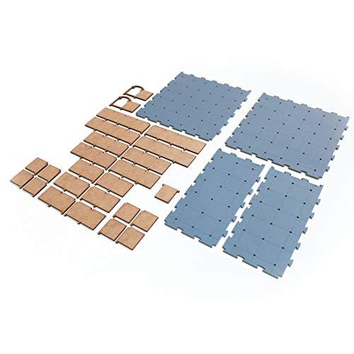 Mapa Tático RPG e Miniaturas - Puzzle Grid