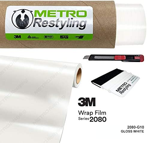 Metro Restyling 3M 2080 Gloss Car Wrap Selling Film Sq Vinyl Limited time sale Felt W Edge