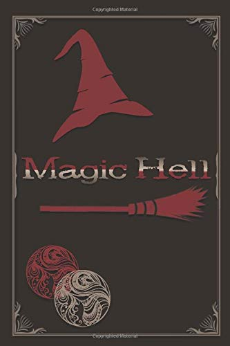 SOBRIETY LOG: Magic Hell - Wizard / Witch Vintage Theme| Sober Me Journey Notebook Journal to Record Taken Steps, What Make You Grateful, Future Plans To Help and More
