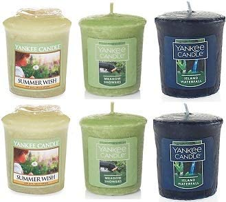 Yanke Baltimore Mall Popular shop is the lowest price challenge Candle Fresh Fragrances Votive Oz. of Pack 6 1.75