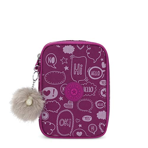 Kipling 100 PENS Zaino, Multicolore (Statement)