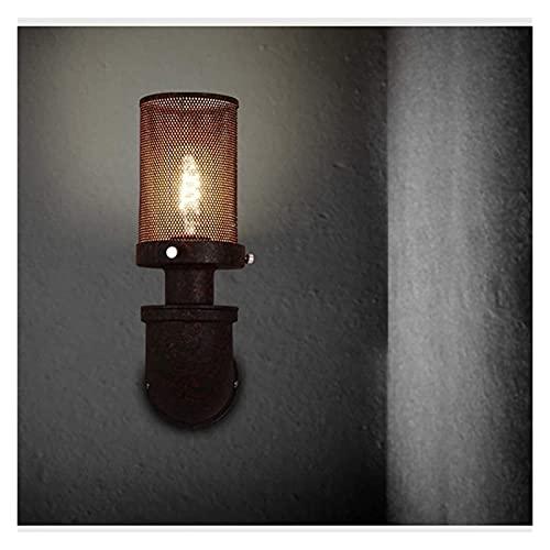 JAOSY Retro Loft American Industrial Style Wall Sconce Flur Bar Cafe Einfache Kreative Persönlichkeit Rohr Lampe Schmiedeeisen Rost Farbe Eisen Handwerk Malerei Wandleuchte Wandlichter
