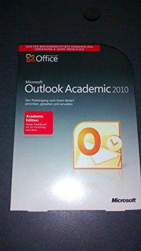 Microsoft Schulversion Outlook 2010 Deutsch - Berechtigungnachweis erforderlich [import allemand]
