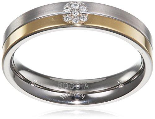 Boccia Damen-Ring Titan Gr. 55 (17.5) - 0129-0655