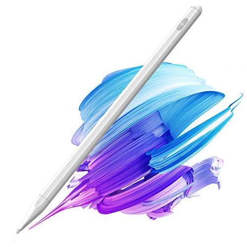 Pennino per iPad con Palm Rejection, (2018-2020) iPad Pencil con disegno magnetico per Apple iPad, iPad (6 7 8 Gen) iPad Pro (11 12,9 cm), iPad Mini Gen 5, iPad Air Gen 3 4 Active Stylus