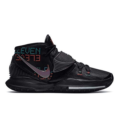Nike Men's Kyrie 6 Basketball Shoe, Black Black, 14 UK