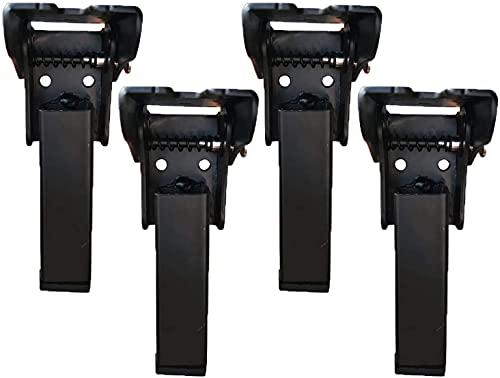 4 Soportes Plegables Para Patas De Mesa De 90 Grados Para Patas De Cama Bisagras Con Tornillos De Montaje Pata De Mesa De Metal De Estilo Moderno Muebles Artesanales DIY Pata Mesa(Size:13.8cm)