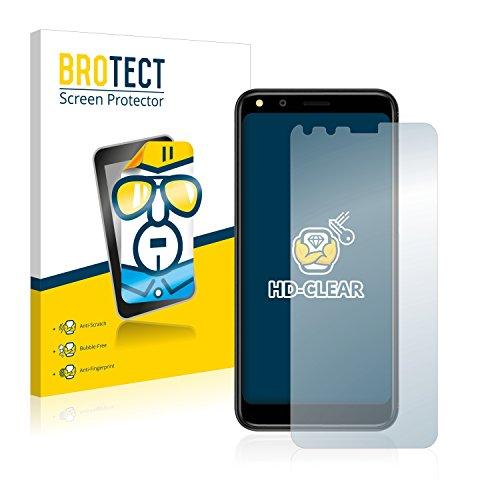 BROTECT Schutzfolie kompatibel mit Doogee X53 (2 Stück) klare Bildschirmschutz-Folie