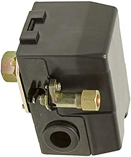 (New Part) Z-D20596 Replacement Air Compressor Pressure Switch P.C. & Craftsman 175/130 PSI/firs for many models, check in description + (one free author's book)
