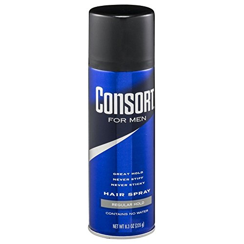 Consort For Men Hair Spray Regular Hold 8.3 oz (Pack of 3)