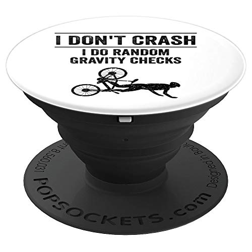 Funny Mountain Bike Gift | Cute MTB Biking Lover Men Women PopSockets Grip and Stand for Phones and Tablets