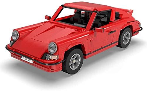 YQRX Technics Coche Conjunto de Control Remoto con 3 Motores, 1429pcs Technic Sports Car Vintage Mode