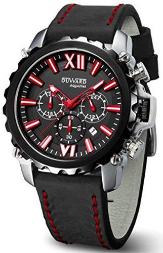 Duward aquastar Nice Reloj para Hombre Analógico de Automático japonés con Brazalete de Piel de Vaca D85516.02