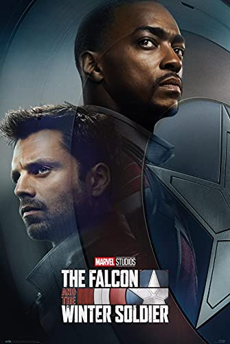 Close Up Póster Marvel The Falcon and The Winter Soldier - TV Promo 2 (61cm x 91,5cm)
