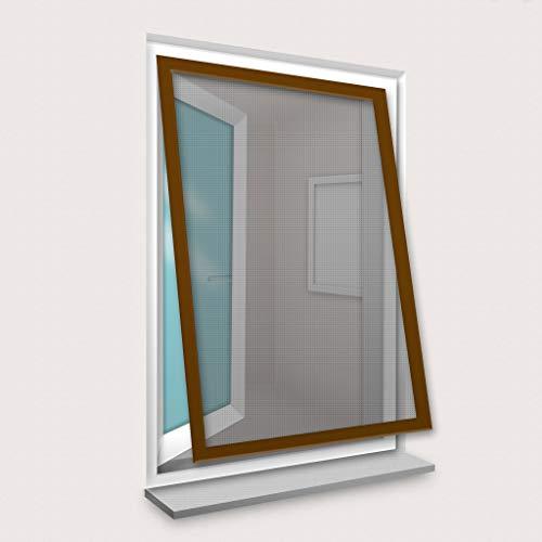 Confortex hor voor ramen, 100 x 120 cm, bruin