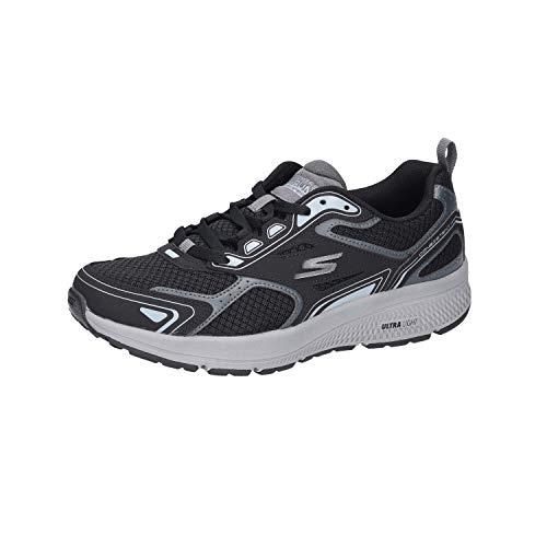 Skechers GO Run CONSISTENT, Zapatillas para Correr para Hombre, Bkgy, 23 EU