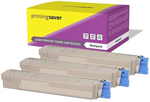 Cian Magenta Amarillo Tóners compatibles para Oki C8600, C8600n, C8600dn, C8600dtn, C8600cdtn, C8800, C8800n, C8800dn, C8800dtn, C880cdtn impresoras