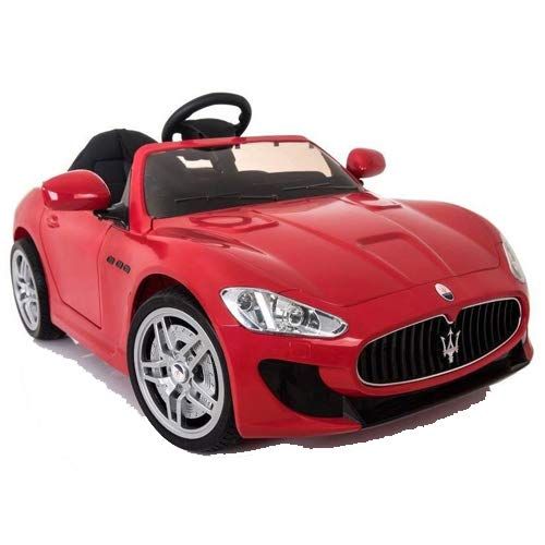 MASERATI GT GranTurismo 12V Fernbedienung Kinderfahrzeug Kinderauto (Rot)