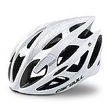 Cairbull M et L Casque Velo VTT Montagne Route Vélo Casque Ultralight Casque Adulte Enfant Unisexe Casque,Blanc,L(58-62cm)