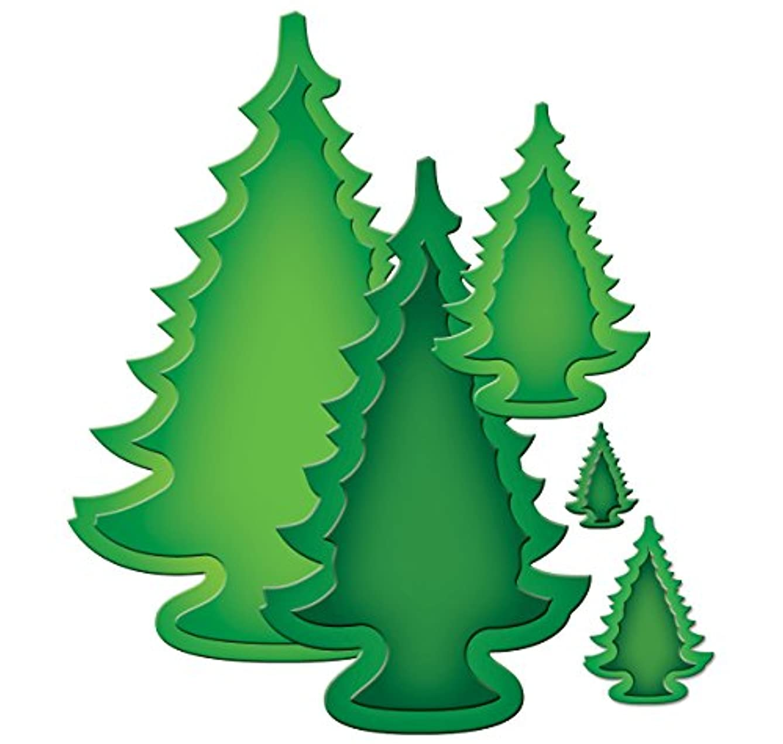 Spellbinders S4-402 Nestabilities 2013 Holiday Trees Paper Art Template