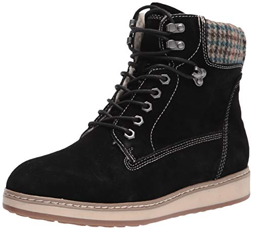WHITE MOUNTAIN Shoes Theo Women's Boot, Black/Suede, 7H M