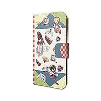 ヒカルの碁 01 ちりばめデザイン(グラフアート) 手帳型スマホケース(iPhone6/6s/7/8兼用)