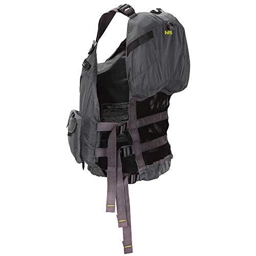 NRS Chinook Fishing Lifejacket Charcoal L/XL