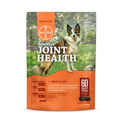 Top 10 best selling list for dogs supplements for joint health synovi