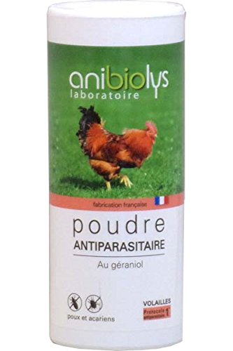 Poudre Antiparasitaire Volailles AniBioLys 300g