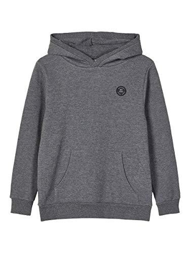 NAME IT Boy Sweatshirt Baumwoll 134-140Dark Grey Melange