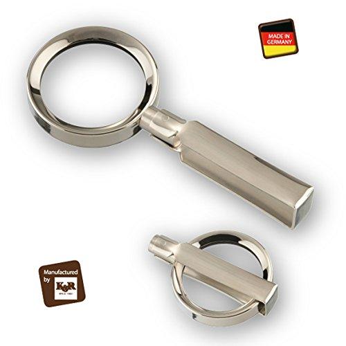 Handgearbeitete Metall-Klapplupe Made in Germany