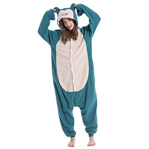 ROYAL WIND Adult Sloth Onesies Pyjama Cosplay Dier Kerst Huiskleding Slaapkleding Jumpsuit Kostuum Vrouwen Mannen