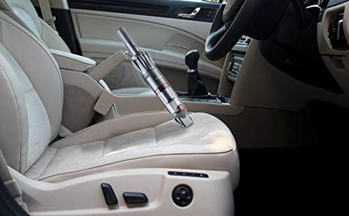 Genius Invictus One Hand-Staubsauger grau (11 Teile) Maximale Power im Handformat - Akku-Staubsauger beutellos und kabellos 90 Watt Hochleistungs-BLDC Motor und Zubehör - 7
