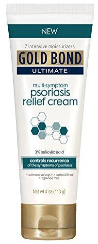 Gold Bond Ultimate Multi-Symptom Psoriasis Relief Cream 4 Ounce (2-pack)