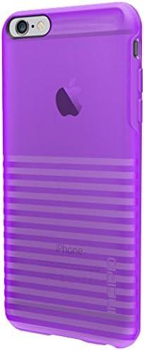 discount iPhone 6S Plus Case, Incipio Rival Case [Textured] Bumper Cover fits online sale iPhone 6 Plus, iPhone 6S Plus - Translucent Neon sale Purple outlet sale