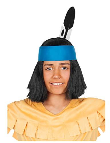 Generique - Yakari Haarband mit Feder für Kinder
