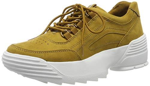 Marco Tozzi 2-2-23732-33, Zapatillas Mujer, Amarillo (Mustard 606), 38 EU