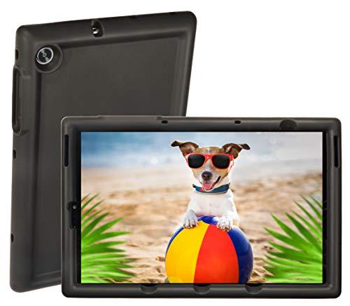 BobjGear Bobj Rugged Tablet Case for (25.7) Lenovo Tab M10 HD 2nd Gen 10.1 inch Models TB-X306F, TB-X306X Kid Friendly (Bold Black)