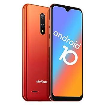 Ulefone Note 8  2020  GSM 3G Unlocked Smartphone Android 10 Quad-core 2GB+16GB Triple Card Slots 5.5 inch Waterdrop Screen Dual SIM Unlocked Cell Phones 5MP+2MP Rear Camera 2700mAh - Orange