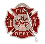 Elektroplate Firefighter Air Freshener, New Car Scent, 6-Pack
